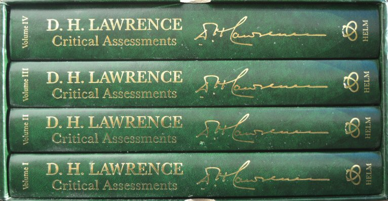 D.H.Lawrence Critical Assessments